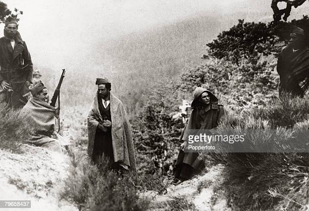 War and Conflict Spanish Civil War Red militiamen in the Sierra Guadarrama to the north of Madrid attempting to stop the patriot advance With what...