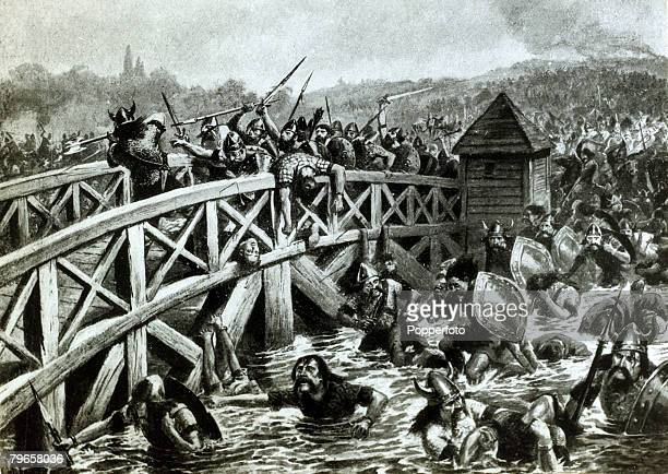 War and Conflict The Battle of Stamford Bridge Yorkshire pic 25th September 1066 The battle was fought between King Harold of England's army and a...