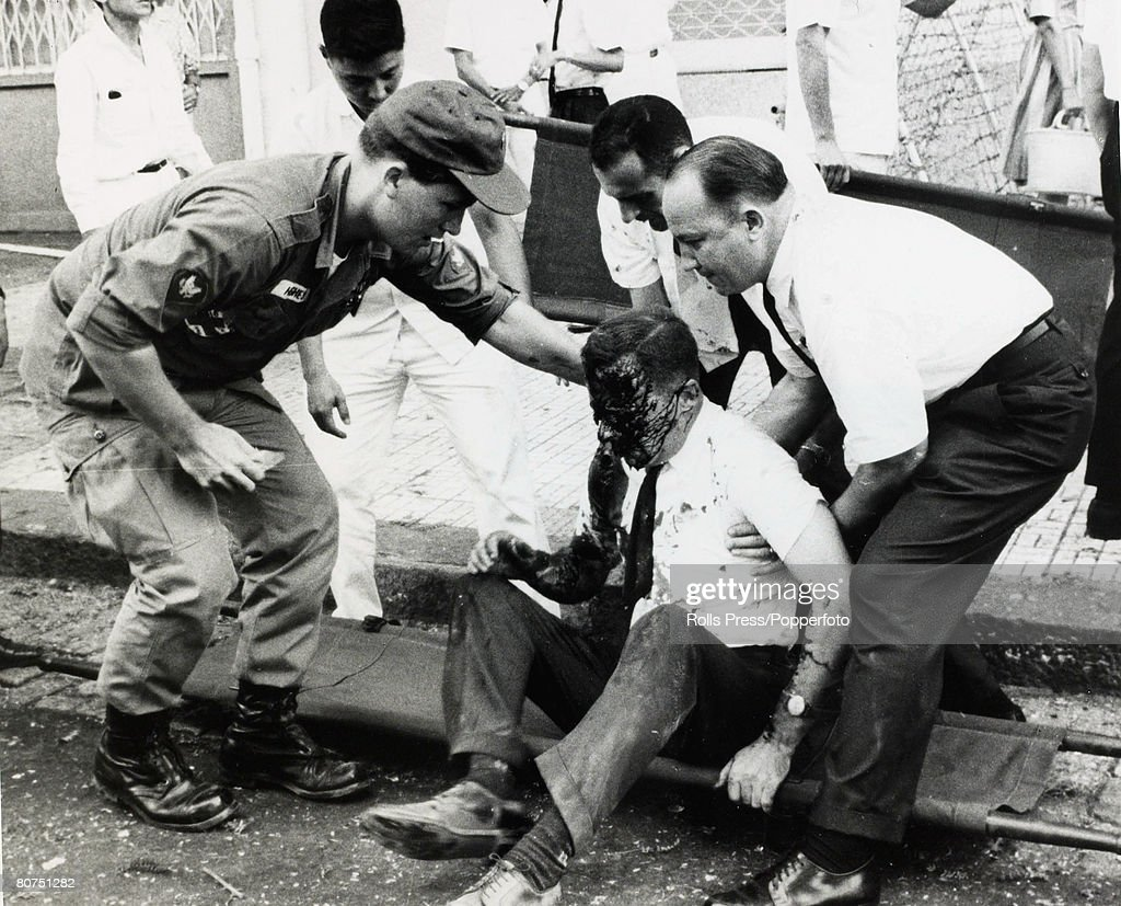 1968 Saigon South Vietnam An American Official From The