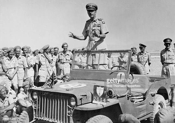 War and Conflict, Tunisia, pic: 1943, General Alexander, General Harold Alexander, 3rd son of the Earl of Caledon, born in London 10th December 1891,...