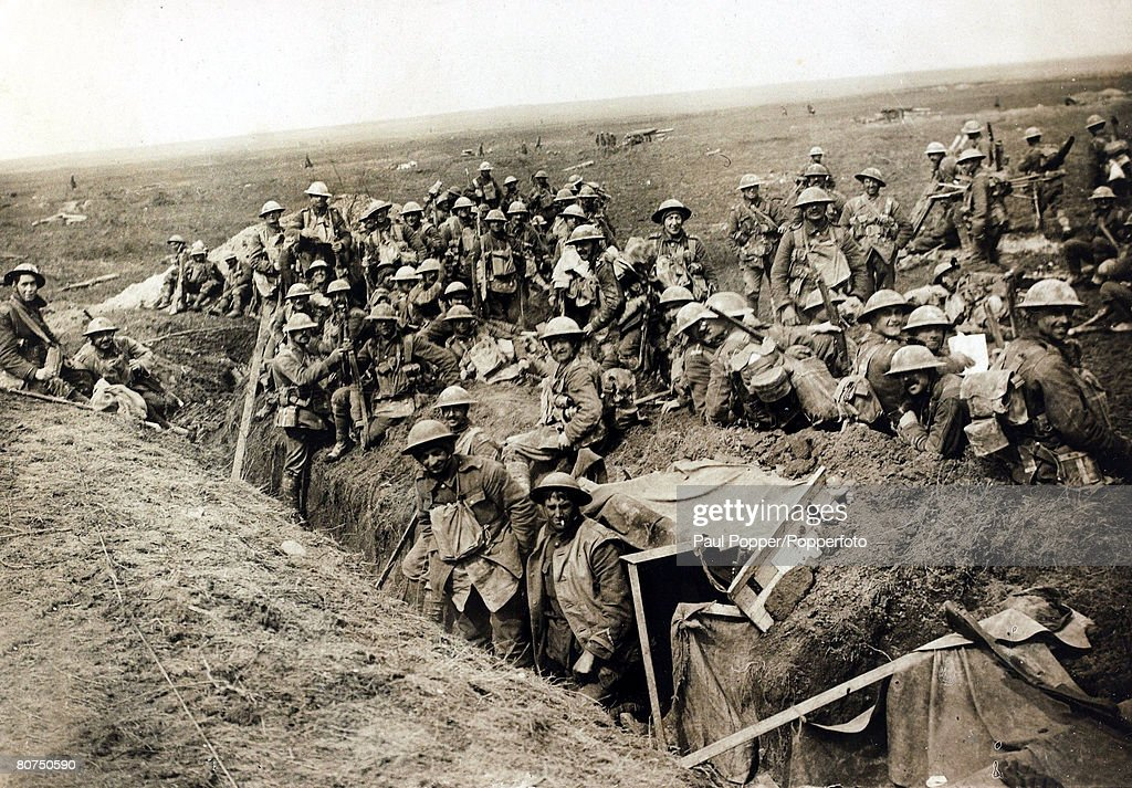 War and Conflict, World War I, 1914-1918, France, British Military, British troops occupying newly captured ground