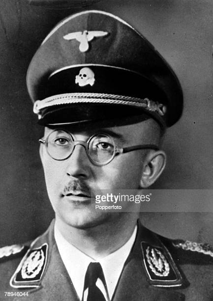 War and Conflict, World War II, pic: circa 1940, Heinrich Himmler, German Nazi Chief of the SS, thought to be the initiator in the mass murder of the...