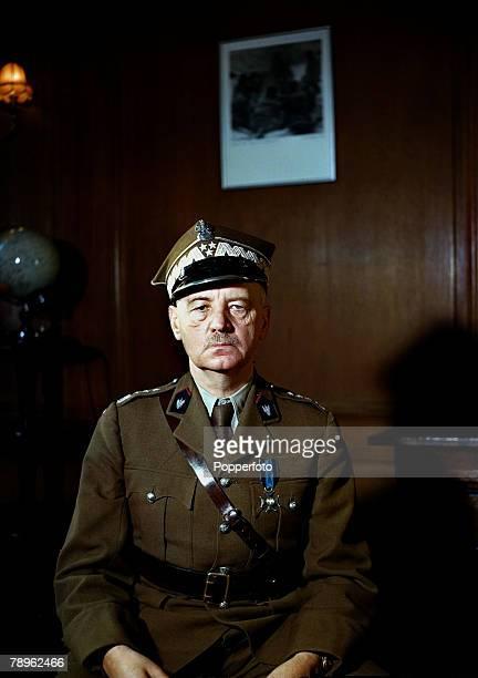 November 1942 General Wladyslaw Sikorski of Poland