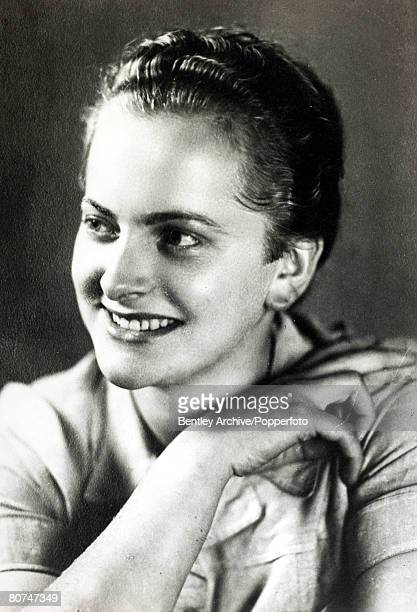 War and Conflict World War Two Atrocities pic circa 1940 Irma Grese born 1923 German camp guard perhaps the most notorious female Nazi war criminal...