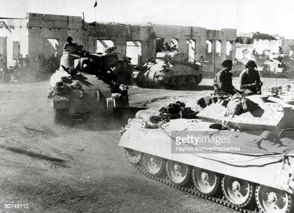War and Conflict, World War Two, North Africa, pic: November