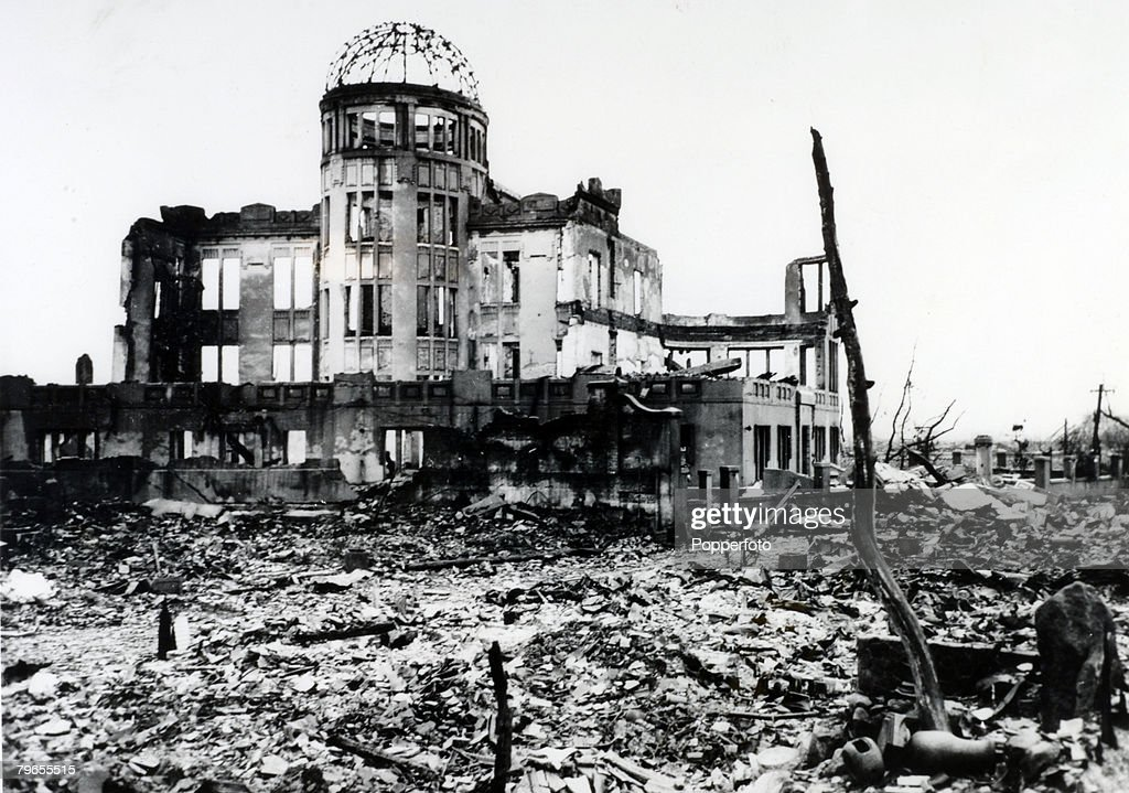 #OTD Atomic Bomb Dropped On Hiroshima