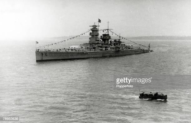War and Conflict World War Two Sea War pic 1939 The Admiral Graf Spee the German battleship that was lost when scuttled by the crew off Montevideo...