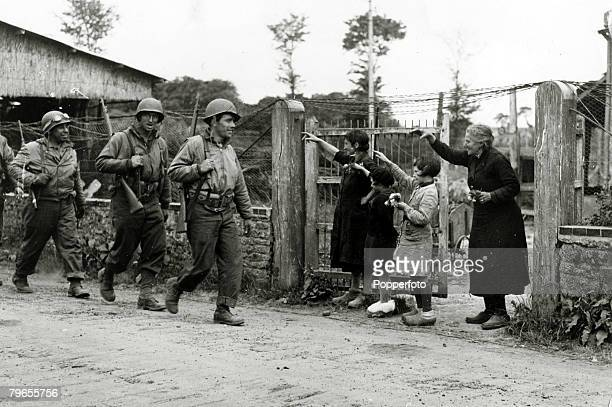 War and Conflict World War Two The Invasion of France pic June 1944 Less than one week after landing in bitter fighting in the DDay landings these...