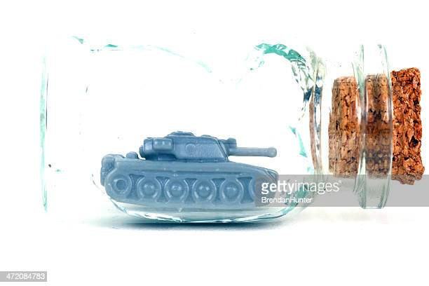 war breaks things - ship in a bottle stock pictures, royalty-free photos & images