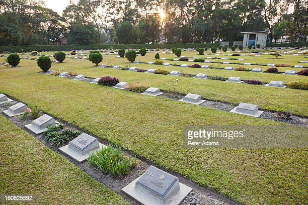 WW2 War Cemetery, Imphal, Manipur, India