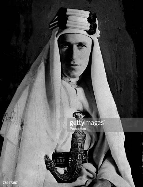 War Conflict Circa 1930 Portrait of TE Lawrence