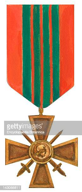 War Cross The Cross Of War A Military Decoration Of France Bestowed To Individuals And Units Who Distinguish Themselves By Acts Of Heroism Involving...