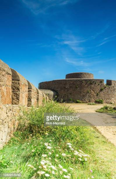 war defence in guernsey, channel island - ammunition magazine stock photos and pictures