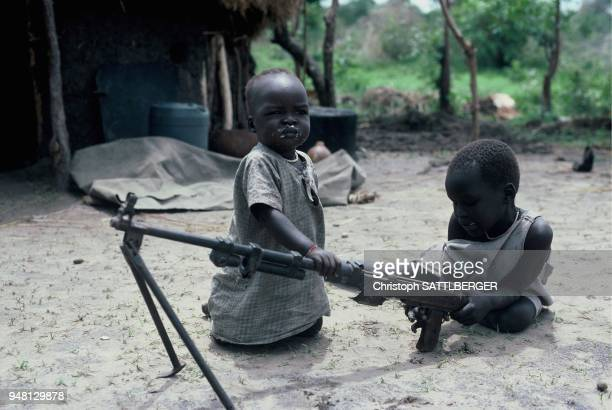 children at play in Ayod