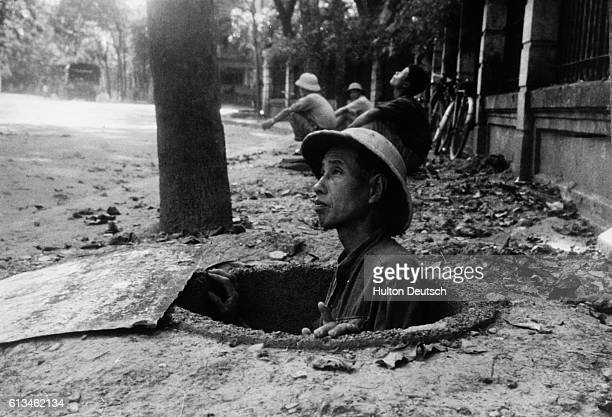 War In North Vietnam The people of North Vietnam in the city of Hanoi are constantly on combat readiness owing to the constant bombing raids by the...