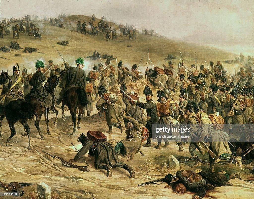 War In Schleswig Holstein Battle On February 3 1864 L Allemand