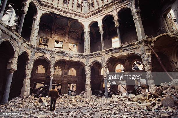 War in the former Yugoslavia. February 1994, the capital city of Bosnia-Herzegovina during the siege of Sarajevo. In the first days of the siege of...