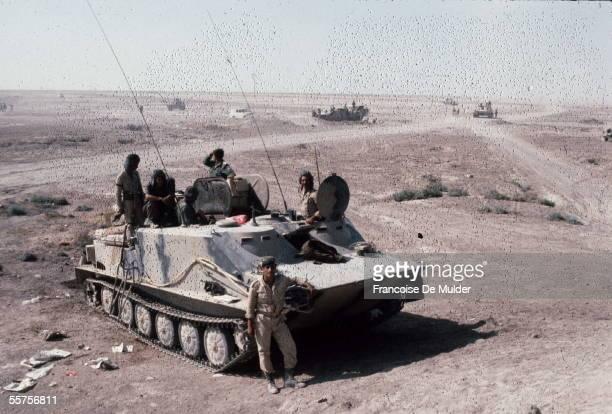 War Iran Iraq Iraqi tank Khorramchahr in October 1980 FDM79619