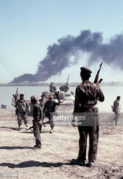War Iran-Iraq. Khorramchahr , in October, 1980.