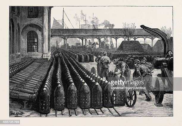 700Lb Palliser Shells For The 38Ton Guns 1879