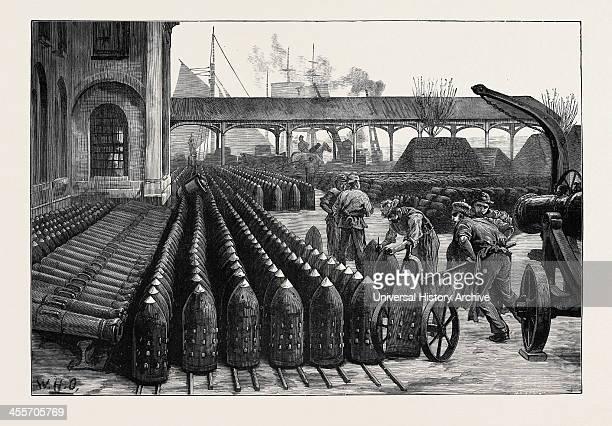 700Lb Palliser Shells For The 38Ton Guns 1879