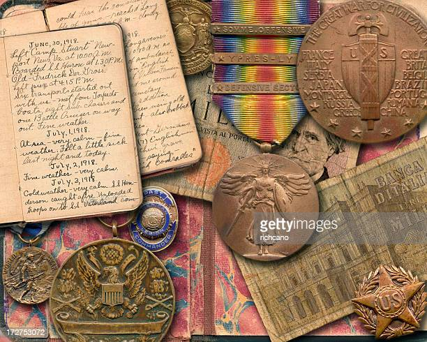 war memorabilia - world war one stock pictures, royalty-free photos & images