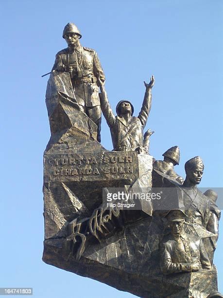 CONTENT] War Memorial Eceabat Gallipoli Peninsula Turkey 2008Peace at home peace in the world Kemal Attatürk