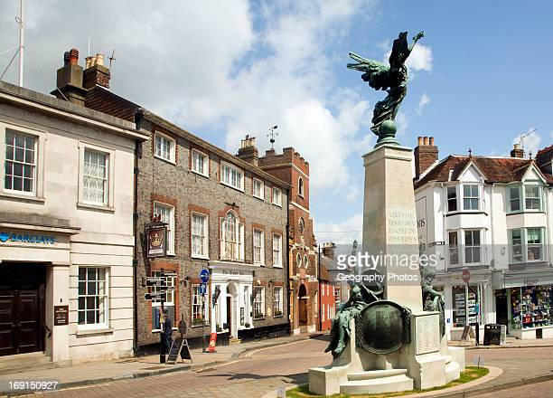 War memorial Lewes town center East Sussex England