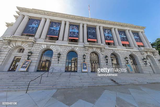 War Memorial Opera House in San Francisco