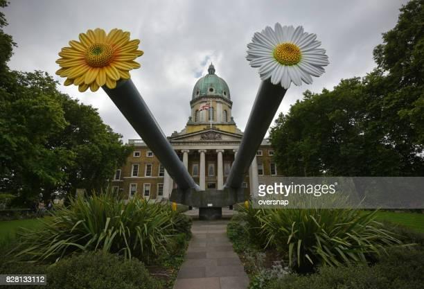 War Museum flowers