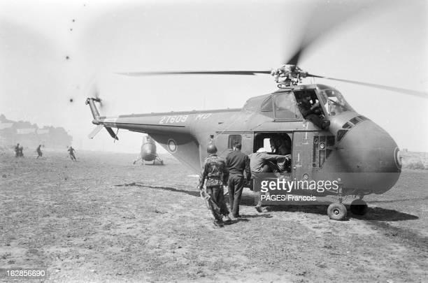French Forces Operations On The AlgeriaMorocco Border Le 20 avril 1956 l'offensive des forces françaises contre les fellagha à la frontière...