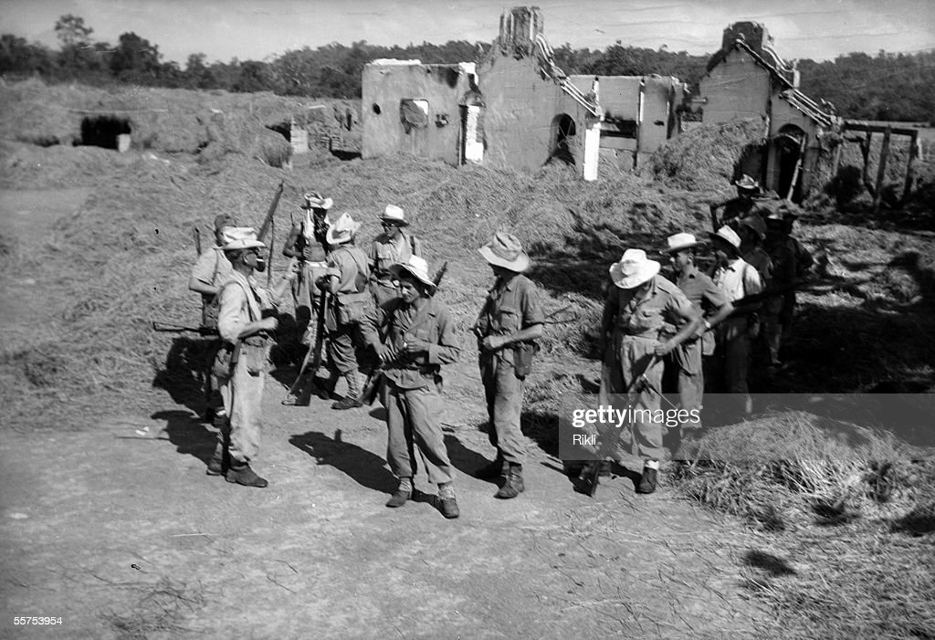 War Of Indochina 1946 1954 Resumed Of Quang Nam Pictures Getty