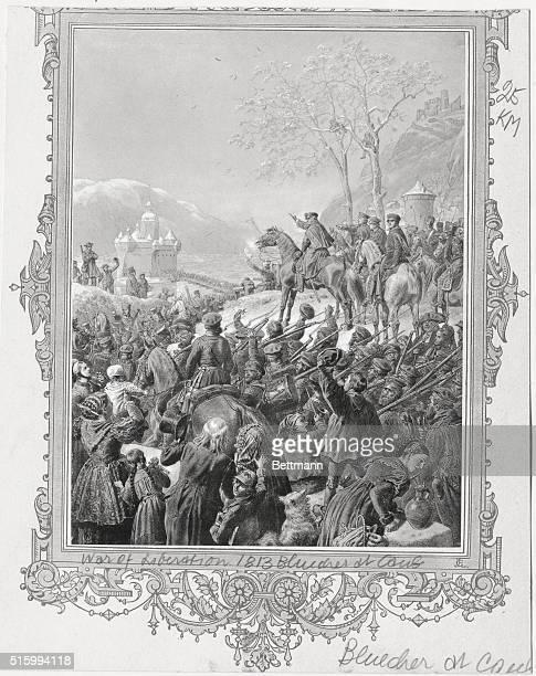 War of Liberation with Blucher at Caub