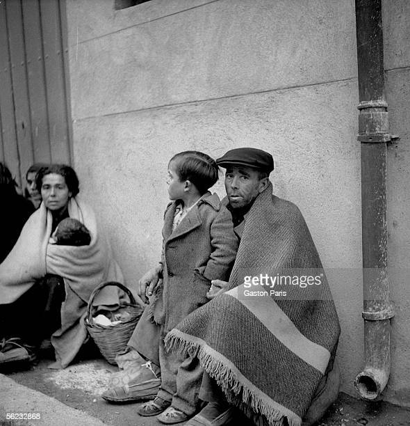War of Spain Exodus France February 1939 RV221843