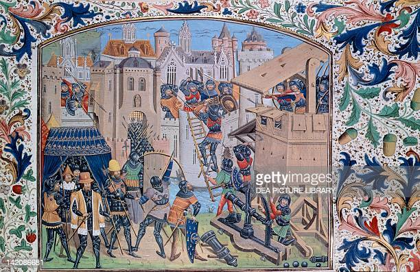 War of the Roses capture of Ridobane miniature England 15th Century