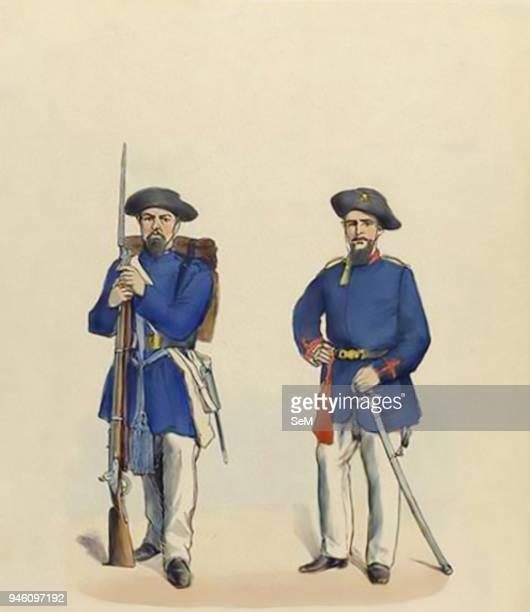 War of the Triple Alliance in the Paraguayan War 18651870 24 Volunteers Brazilian Army