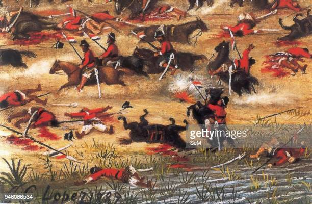 War of the Triple Alliance in the Paraguayan War 18651870 March 24 1866 Battle of TuyutÕ paraguaniana the cavalry under the command of General...