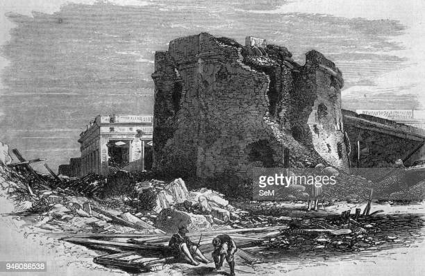 War of the Triple Alliance the Paraguayan war in 18651870 The ruins of the fort Paysandu after the Brazilian artillery bombardment