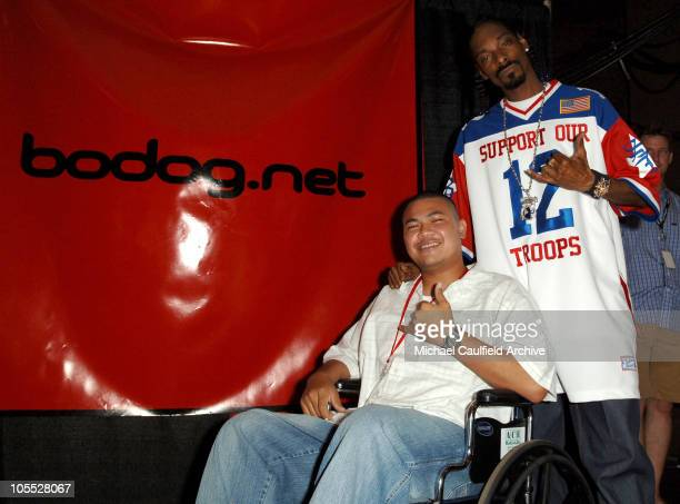 War veteran from Iraq who is a beneficiary of the Fisher House Foundation and Snoop Dogg