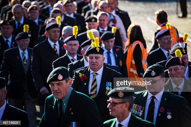 CONTENT] War veterans marching at the Service of Remembrance at The Cenotaph St George's Hall Liverpool