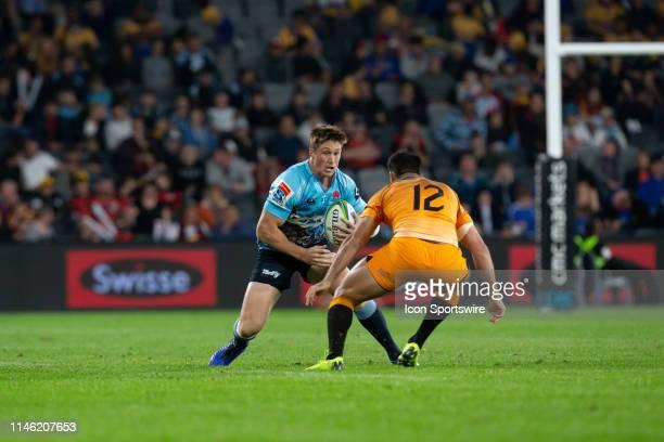 Waratahs playerAlex Newsome at week 15 of Super Rugby between NSW Waratahs and Jaguares on May 25, 2019 at Western Sydney Stadium in NSW, Australia.