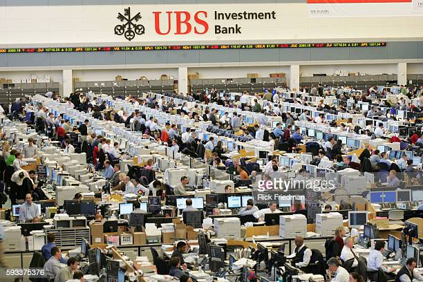 UBS Warburg completed the construction of a 36000 square foot expansion of its Stamford Connecticut trading floor shown February 8 2005 The expanded...