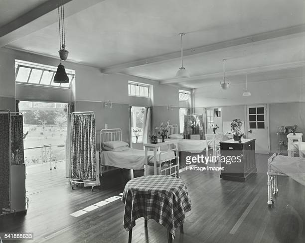 A ward at Orchard House Claybury Hospital Woodford Bridge London 1937 Claybury was a purposebuilt home for 2500 mentally ill people The enormous...