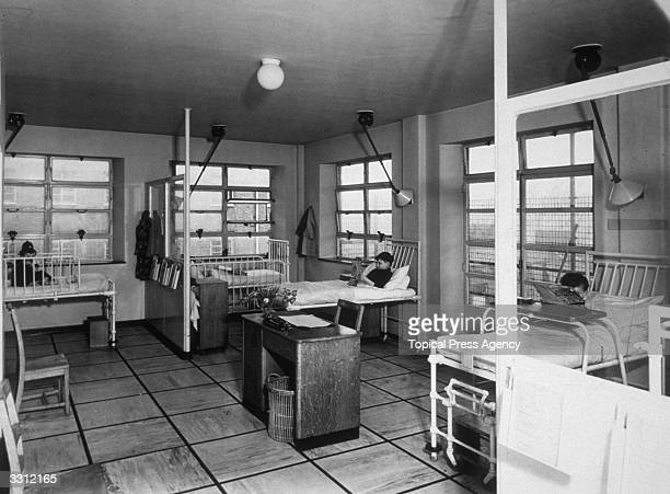 A ward in the hospital for sick children at Great Ormond Street London