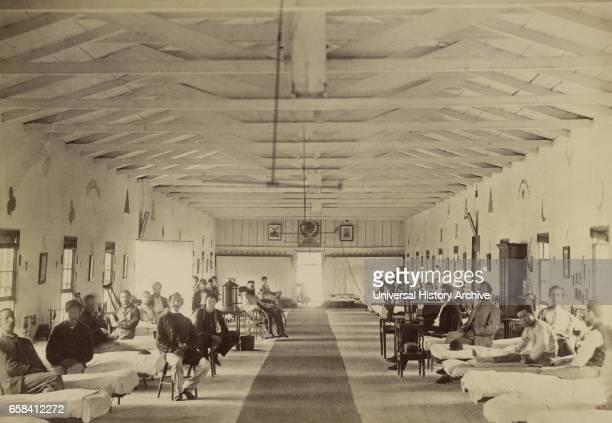 Ward K, Armory Square Hospital, Washington DC, USA, 1864.