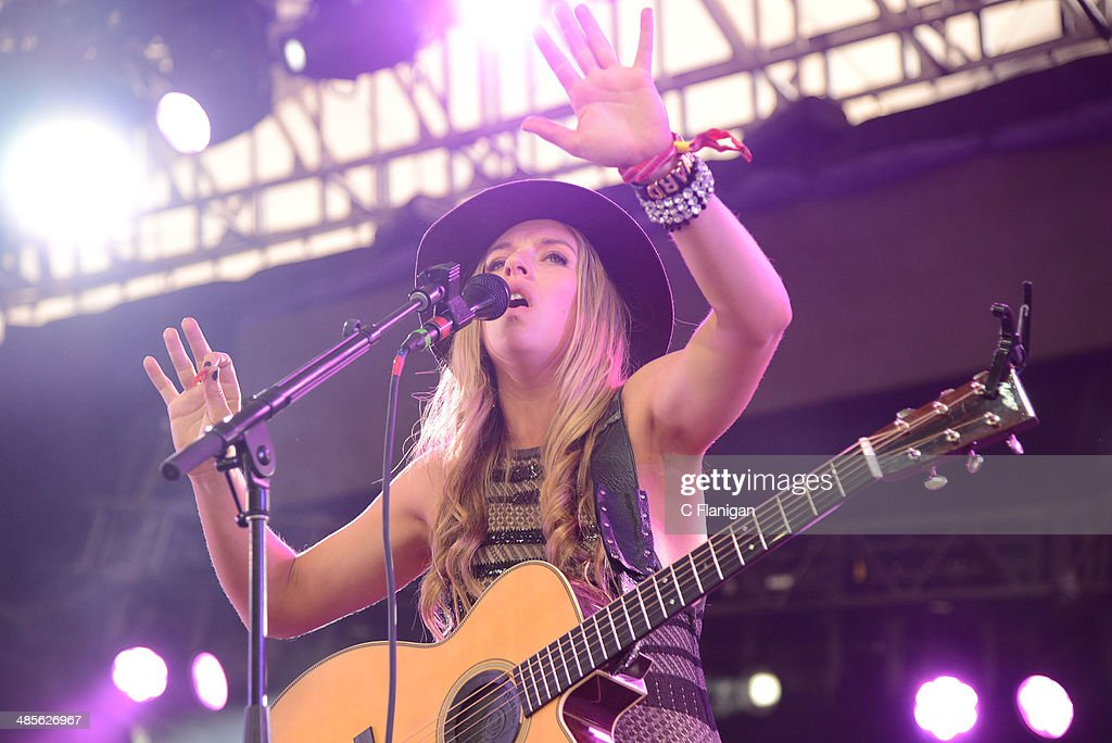 ZZ Ward performs onstage during day 1 of the 2014