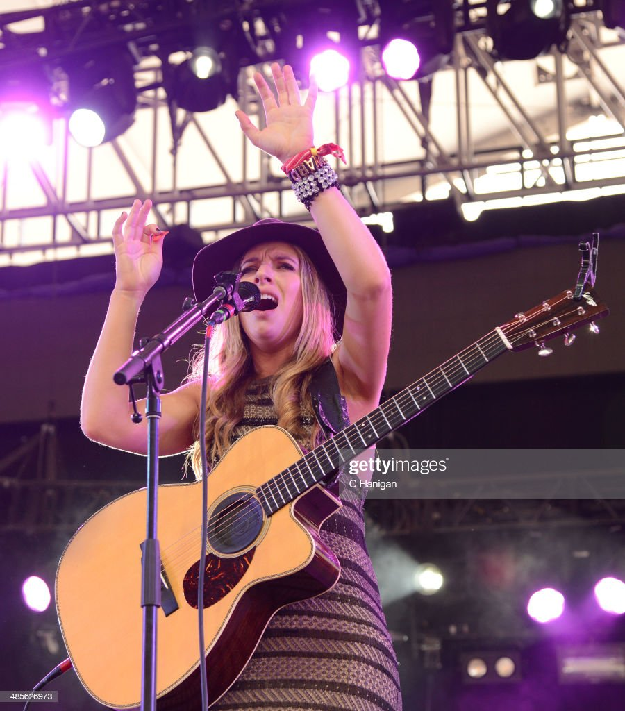 ZZ Ward performs during the 2014 Coachella Valley Music
