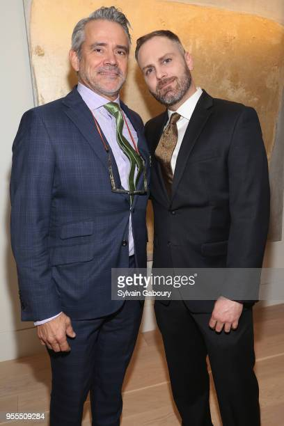 Ward Welsh and Chadwick Moore attend Ambassador Grenell Goodbye Bash on May 6 2018 in New York City