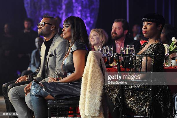 Wardell Malloy Catherine Brewton Alison Krauss and Dan Tyminski attend BMI's 2014 Trailblazers of Gospel Music Awards Luncheon at Rocketown on...