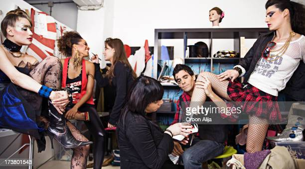 wardrobe - backstage stock pictures, royalty-free photos & images